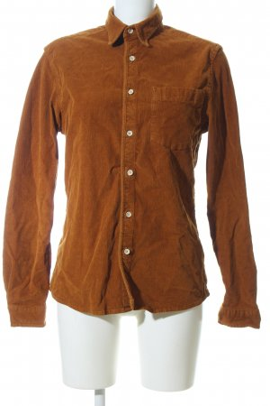 Asos Long Sleeve Shirt brown business style