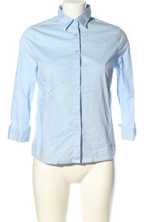 Asos Langarmhemd blau Casual-Look