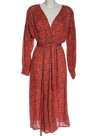 Asos Sukienka z długim rękawem Na całej powierzchni W stylu casual