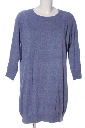 Asos Langarmkleid blau meliert Casual-Look