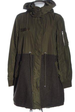 Asos Lange Jacke khaki-braun Casual-Look
