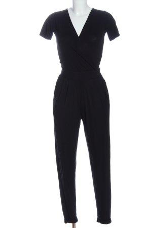 Asos Langer Jumpsuit negro elegante