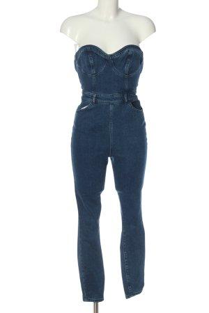 Asos Langer Jumpsuit blue casual look