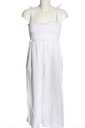 Asos Langer Jumpsuit blanc style décontracté