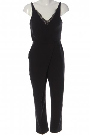 Asos Langer Jumpsuit schwarz Elegant