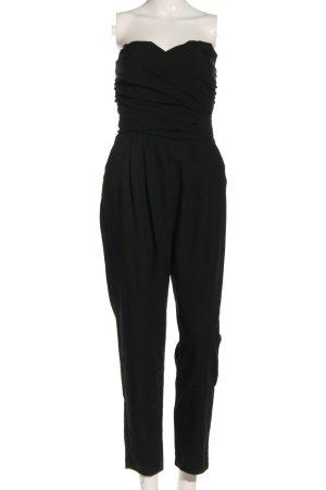 Asos Langer Jumpsuit black casual look