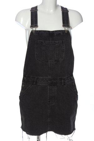 Asos Robe en jean noir style décontracté