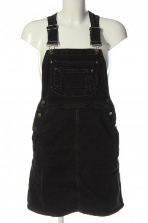 Asos Pinafore Overall Skirt black casual look