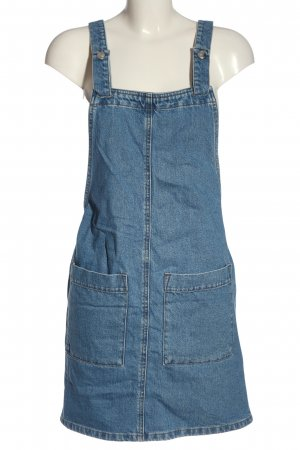Asos Pinafore Overall Skirt blue casual look