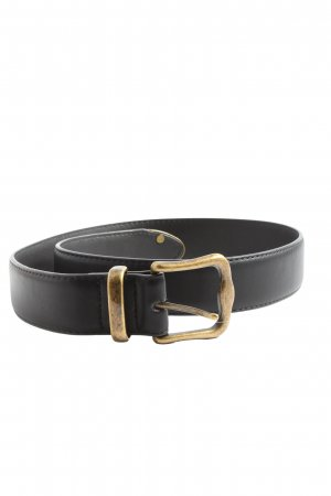 Asos Faux Leather Belt black casual look