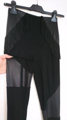 Asos Leggings negro Viscosa