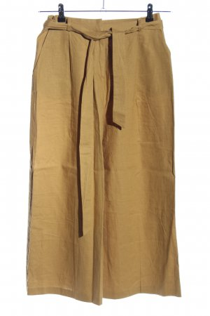 Asos Pantalón de lino color oro look casual
