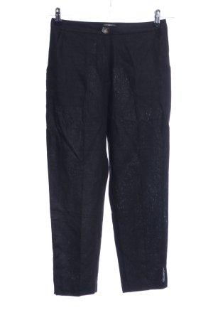 Asos Pantalón de lino negro look casual