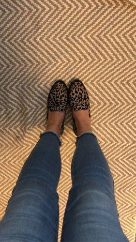 Asos loafer leoprint