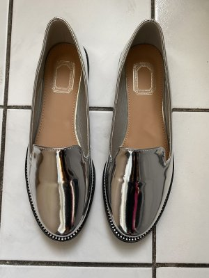 Asos Slippers silver-colored