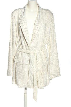 Asos Long-Blazer weiß Elegant