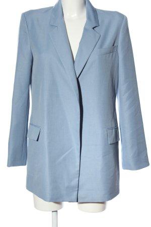 Asos Long-Blazer blau Business-Look