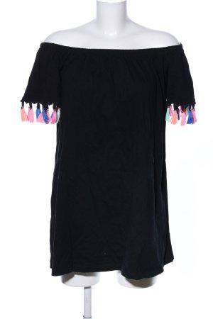 Asos Longshirt schwarz Casual-Look