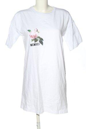 Asos Longshirt Blumenmuster Casual-Look