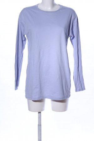 Asos Longsleeve blau Casual-Look