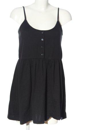 Asos Długi top czarny W stylu casual