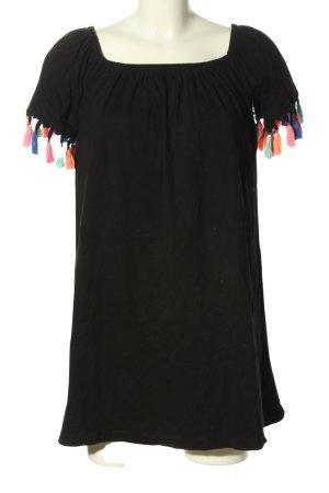 Asos Long Top black casual look