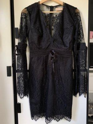 Love Triangle Sukienka boho czarny