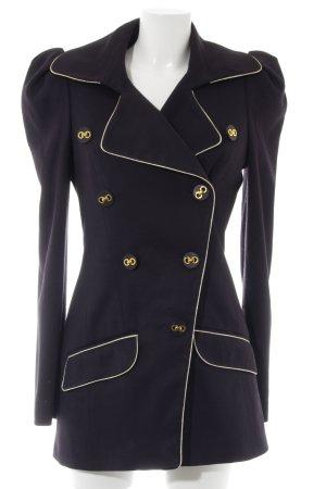 Asos Naval Jacket dark blue-gold-colored polyacrylic