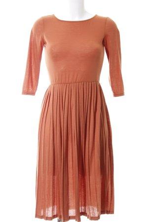 Asos Maxi Dress light orange casual look