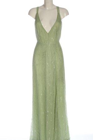 Asos Vestido largo verde elegante