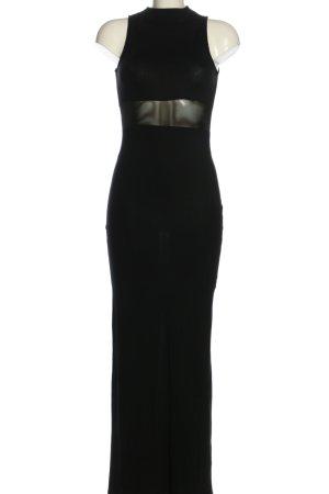 Asos Maxikleid schwarz Elegant