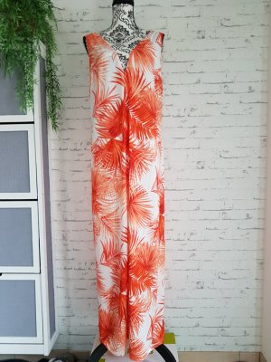 Asos Maxi Dress white-orange