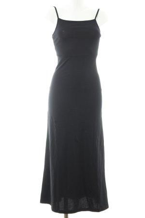 Asos Maxikleid schwarz klassischer Stil