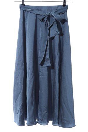 Asos Maxi Skirt blue elegant