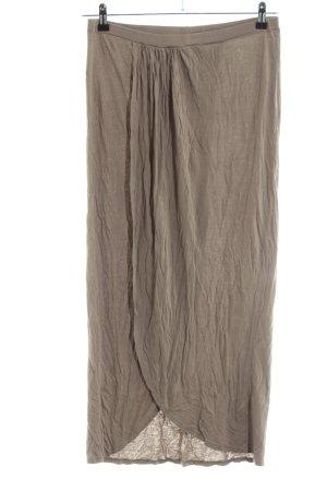 Asos Falda larga color bronce look casual