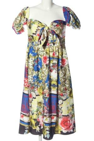 Asos Midi Dress abstract pattern elegant