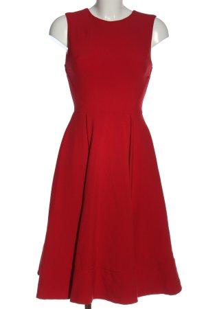 Asos Midi Dress red casual look