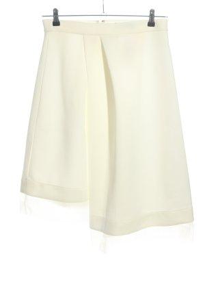 Asos Asymmetry Skirt natural white casual look