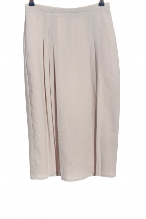Asos Spódnica midi w kolorze białej wełny W stylu casual