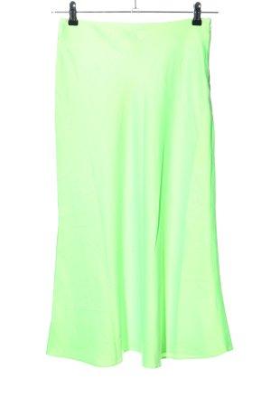 Asos Spódnica midi zielony W stylu casual