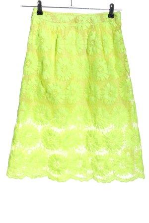 Asos Midirock grün Elegant