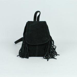 Asos Mini Bag dark green leather