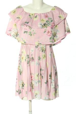 Asos Minikleid pink Blumenmuster Party-Look