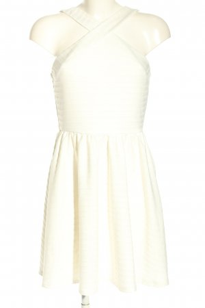 Asos Mini Dress white striped pattern casual look