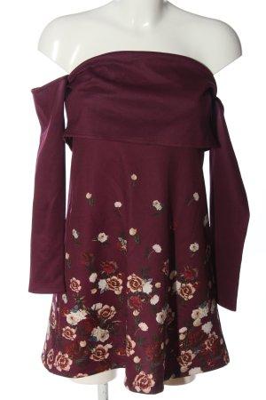 Asos Minikleid Blumenmuster Casual-Look