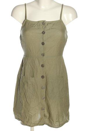 Asos Mini Dress khaki casual look