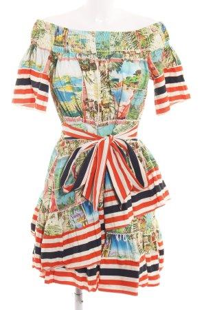 Asos Mini Dress allover print extravagant style