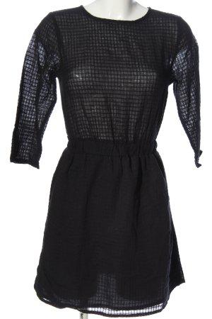 Asos Robe courte noir style décontracté