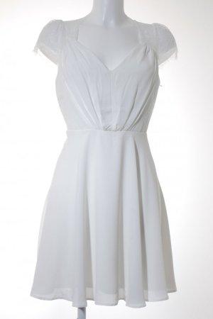 Asos Robe courte blanc polyester