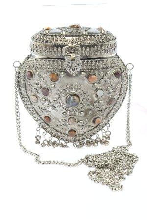 Asos Torebka mini srebrny-brązowy Elegancki
